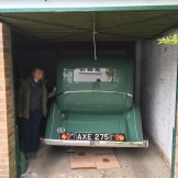 Rolls 20/25, Peabody in her new garage