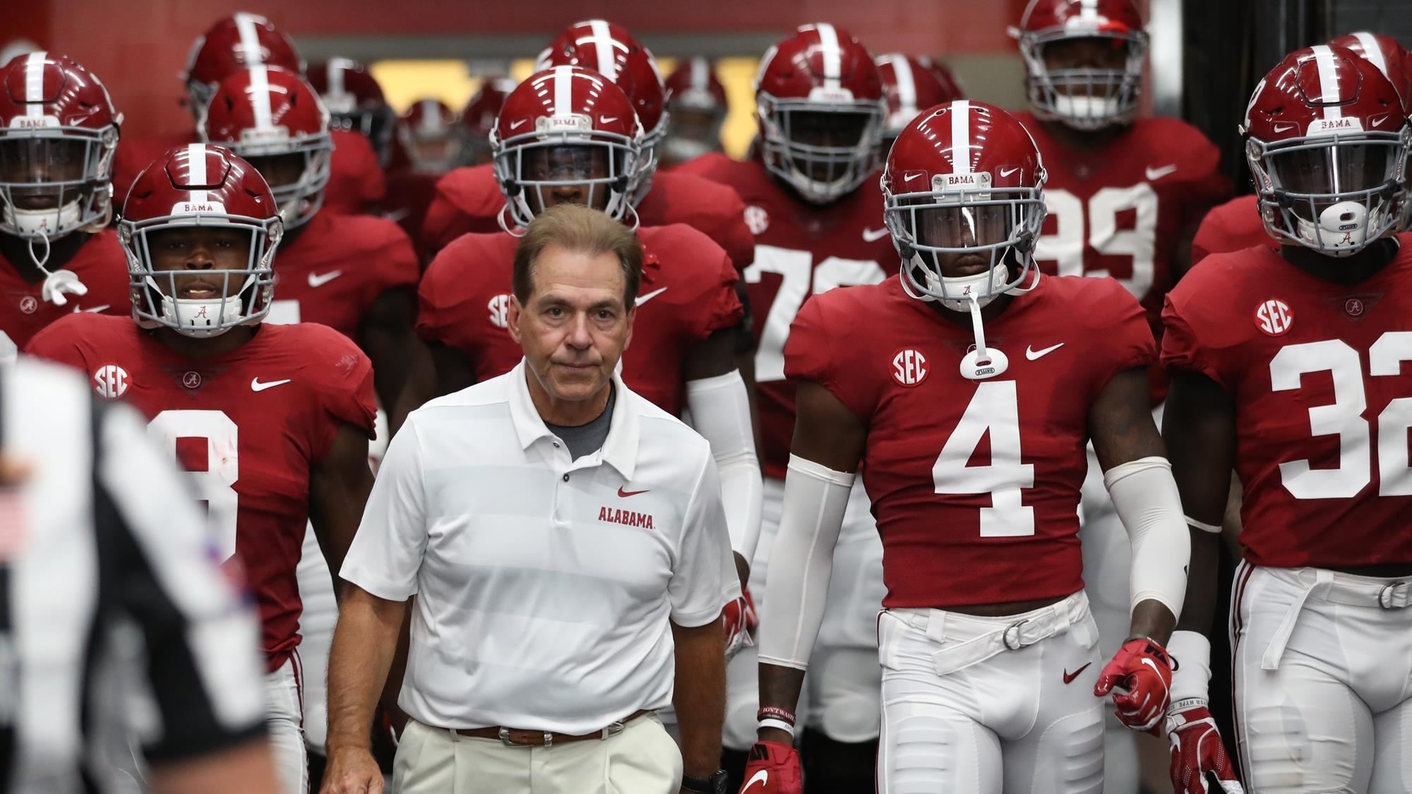 Kickoff Times and Television Set for Alabama Football's Games vs ...