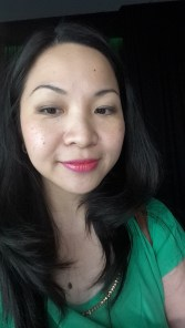 Testing Revlon Ultra HD™ Lip Lacquer in HD Petalite