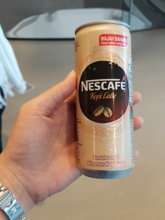 Nescafe to perk me up