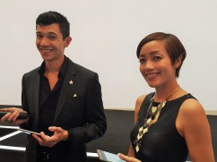 Emcee for the day - Serana C & Will Quah