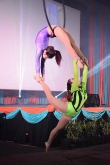 Aerial Acrobatic Dancers