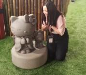 Hello Kitty Praying - HKGA