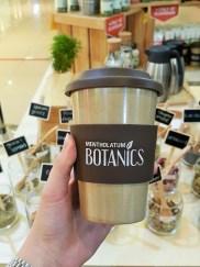 Recyclable rice husk mug