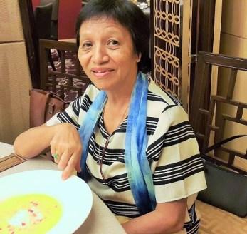 Mom at Zuan Yuan