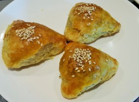 Oven Baked Char Siew Puff Pastry
