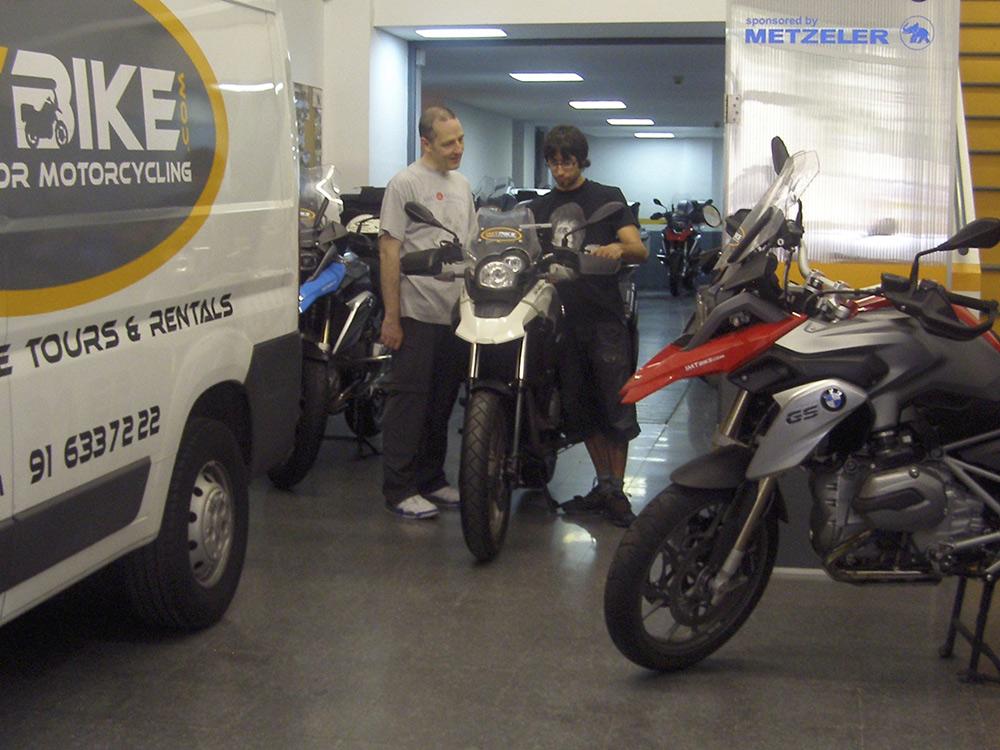 Motorcycle Rental in Barcelona