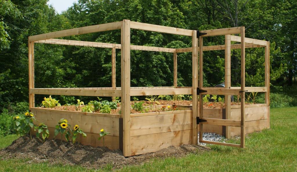 8'x12′ Vegetable Garden Kit – Deer-Proof