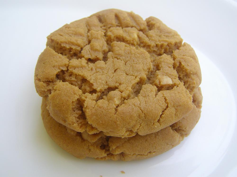 Gluten Free Dairy Free Peanut Butter Cookies