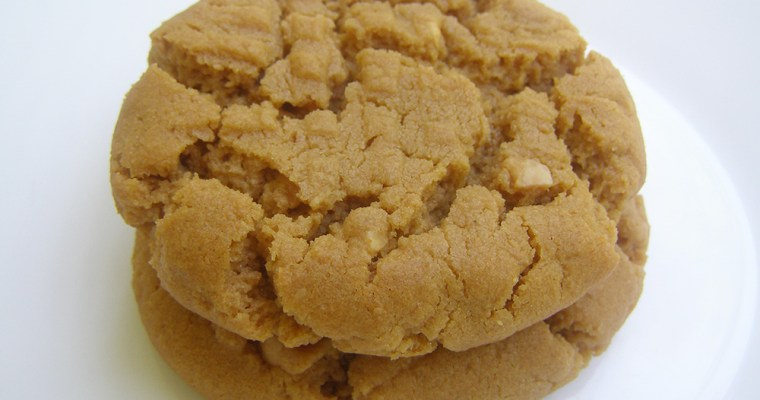 Gluten Free Dairy Free Peanut Butter Cookies
