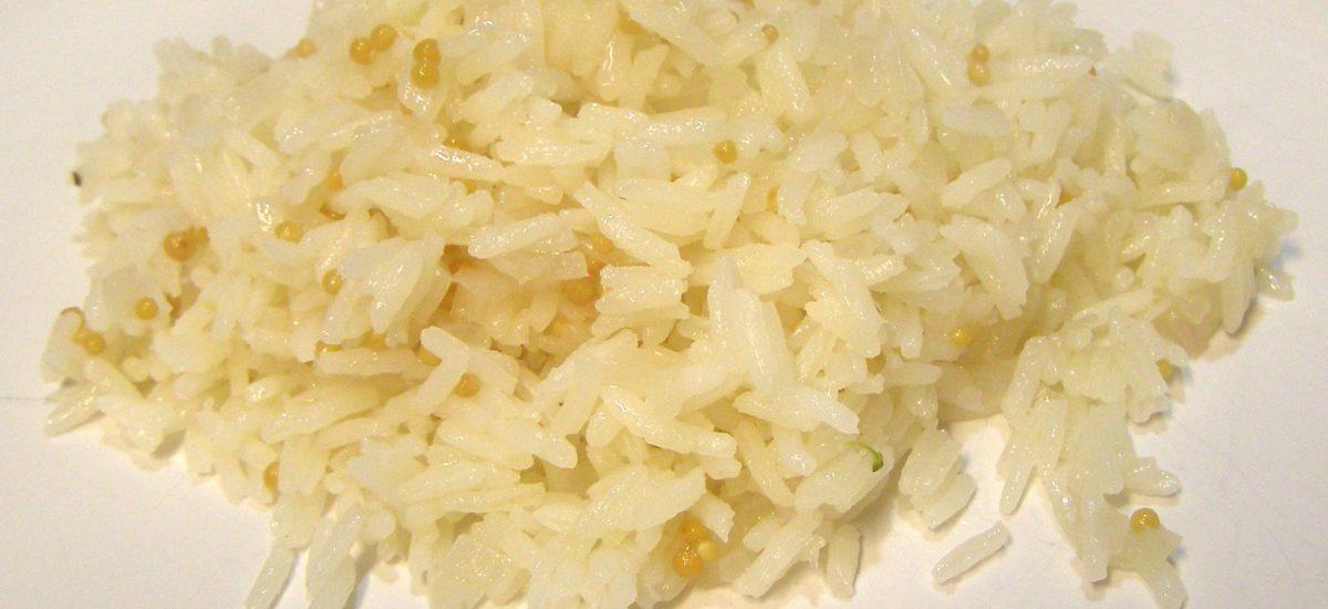 Jasmine Rice Pilaf with Mustard Seed