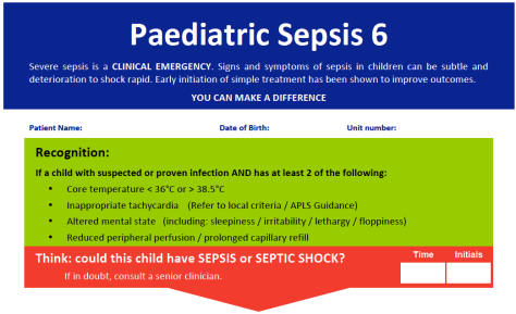 Sepsis Six Part One