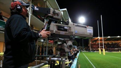 Camera At Rugby