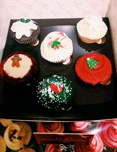 hummingbird bakery christmas cupcakes