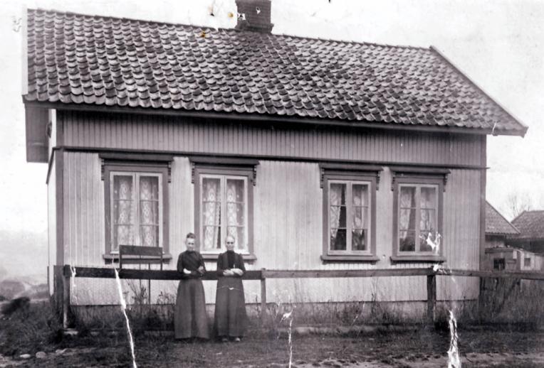 Hanna Kristiansens butikk på Evje.