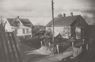 H.N.Hauges vei 52. Emma og Marentius Johansen. Tiurveien Dagny og Ernst Nilsen.