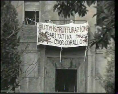 Ecco  il palazzo prima e dopo l'occupazione