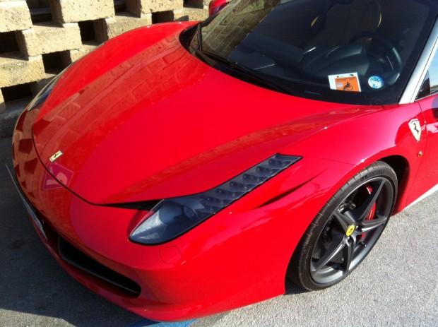 Se l'invalido viaggia in Ferrari