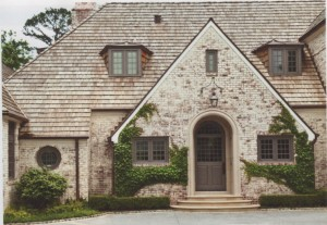 ROMA's limewash was used on the exterior of this home.