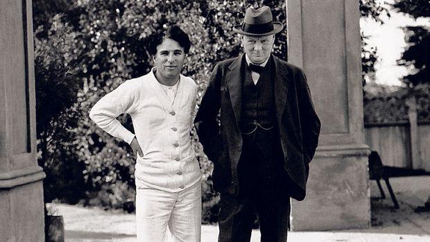 Churchill und Chaplin