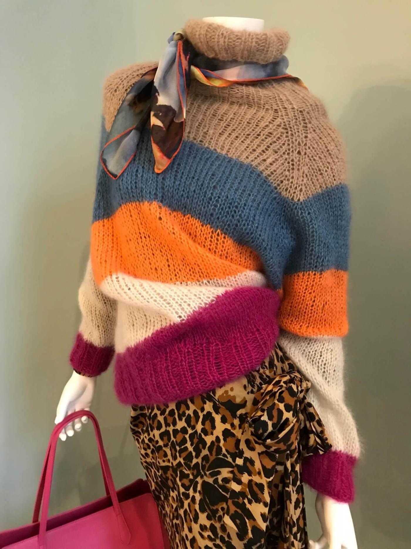 Leoparden Kleid YSL