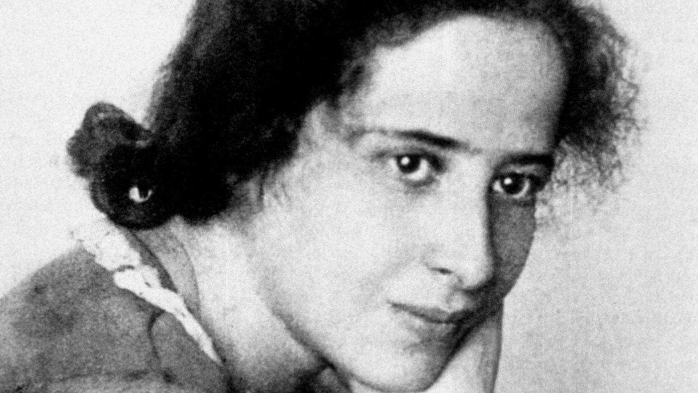 Portrait von Hannah Arendt (1906-1975)