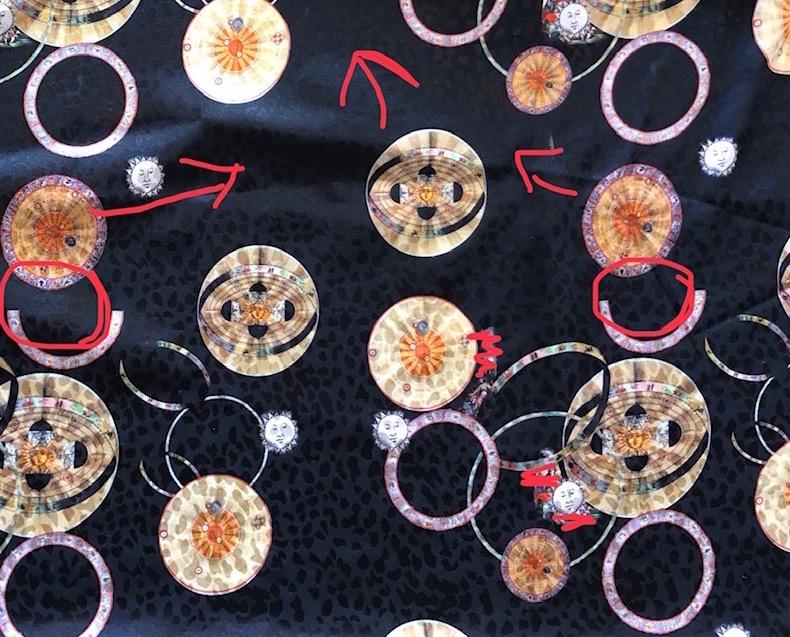 Circles on Black Kopie