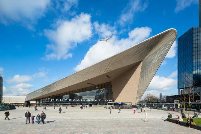 1e Prijs Houtarchitectuurprijs Rooterdam CS Foto Jannes Linders