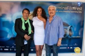 L' ATTORE TURI GIUFFRIDA DOPPIAMENTE PRESENTE AL 58° FILM FESTIVAL DI TAORMINA 2012 Articolo di Rosetta Savelli