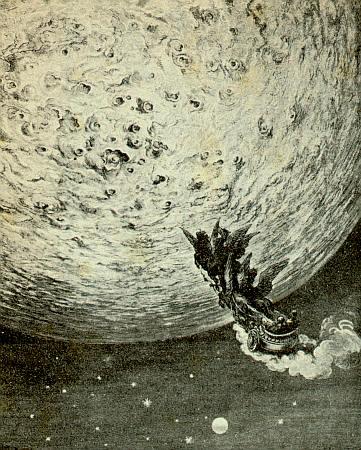 Rappresentazione della luna di Ariosto