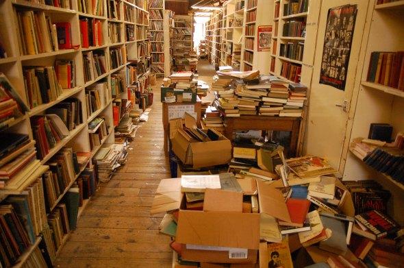 Il bookshop nel castello di Hay on Wye