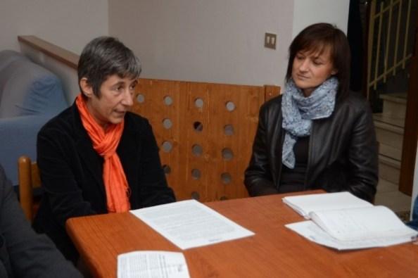 Patrizia Turci e Laura Masotti della Cooperativa Sociale Tragitti