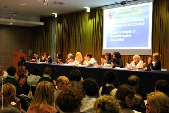 L'assemblea dei soci svolta al Palafiera di Forlì