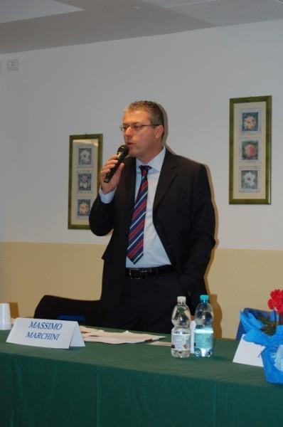 Il presidente Marchini
