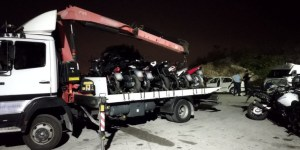 Επιχείρηση-«σκούπα» για κόντρες στον Λυκαβηττό -Συνελήφθησαν οδηγοί, κατασχέθηκαν οχήματα