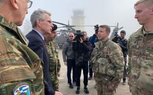 Κοινή άσκηση της Αεροπορίας Στρατού Ελλάδας και ΗΠΑ στους πρόποδες του Ολύμπου