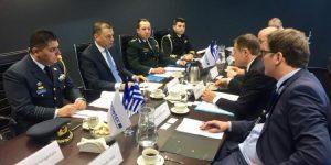 Ο ΥΦΕΘΑ στην έδρα της FRONTEX στη Βαρσοβία [pics]