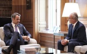 Κ. Μητσοτάκης: Ελλάδα και Κύπρος συντονίζουν τις κινήσεις τους για να αντιμετωπίσουν τις εθνικές προκλήσεις
