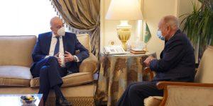 Δένδιας – Σούκρι: Δεν υπάρχει καμία απολύτως συζήτηση για οριοθέτηση ΑΟΖ Τουρκίας και Αιγύπτου