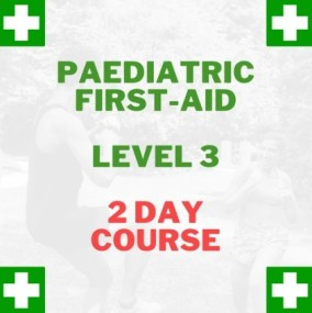 first aid at work 2 day paediatric first aid course