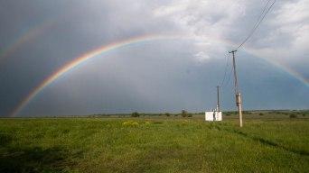Medow under the rainbow