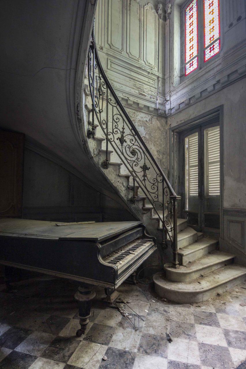 Requiem pour pianos 11 | Serie Requiem pour pianos | Romain Thiery | France