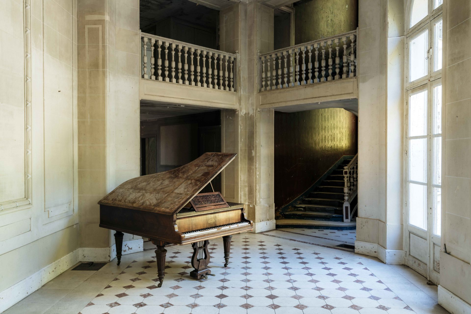 requiem pour pianos 70 | Serie Requiem pour pianos | Romain Thiery