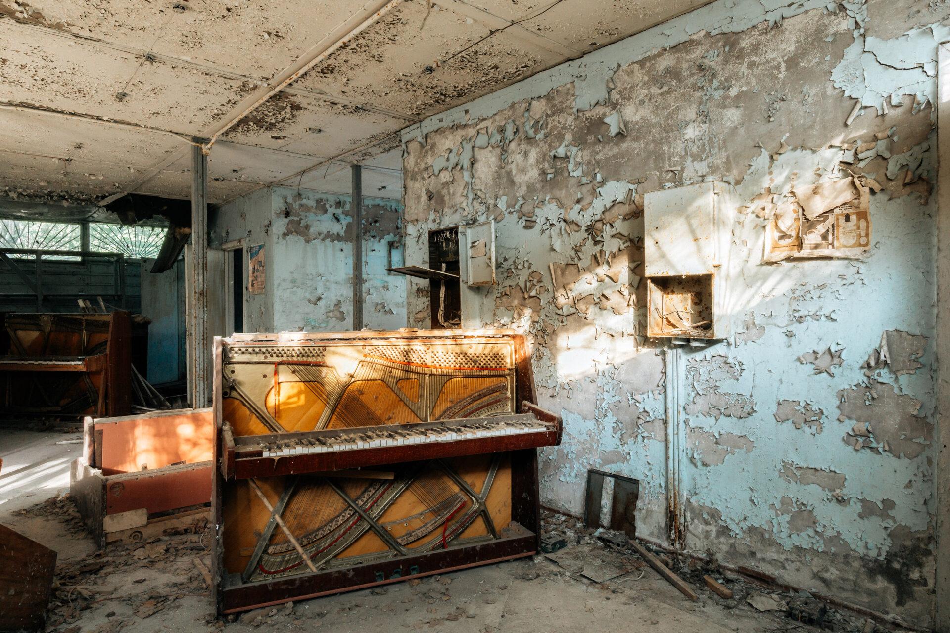 requiem pour pianos 18 | Serie Requiem pour pianos | Romain Thiery