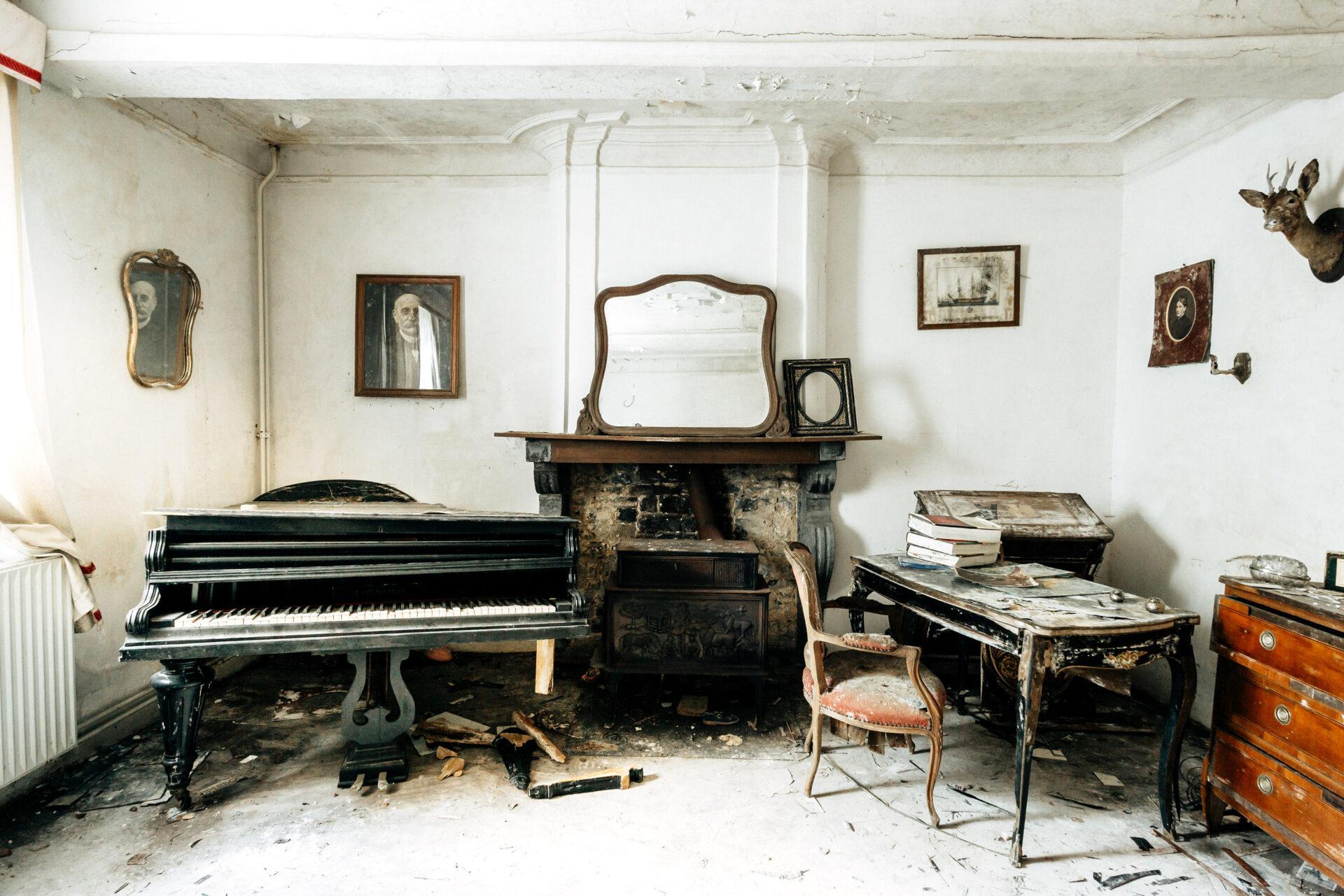 Requiem pour pianos 26 | Serie Requiem pour pianos | Romain Thiery