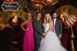 City chic Cloudland wedding