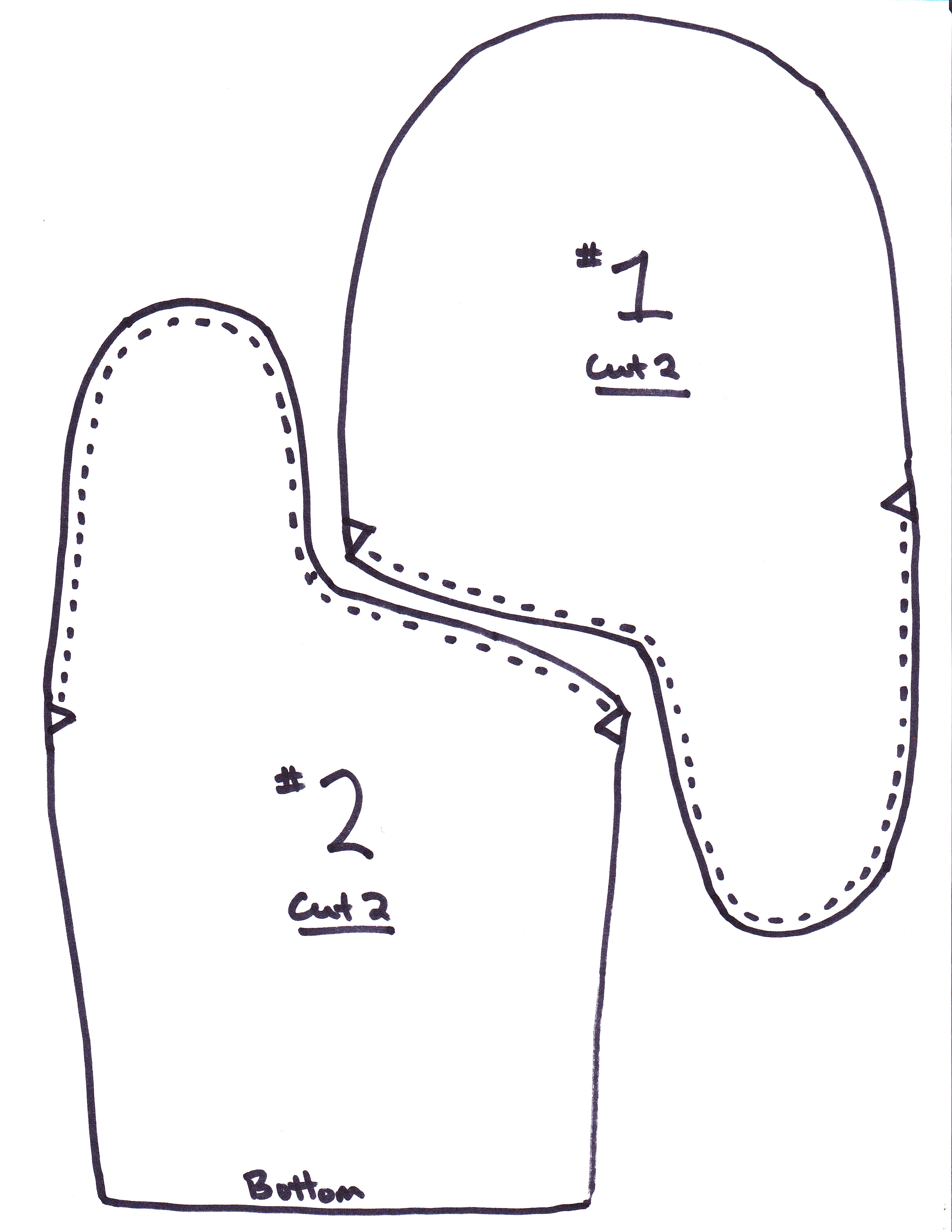 Search Results For Printable Mitten Pattern Sewing