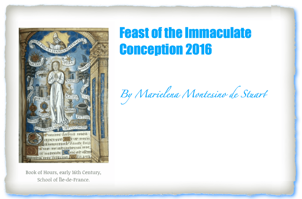 The deciding moment of our eternal journey: Feast of the Immaculate Conception 2016