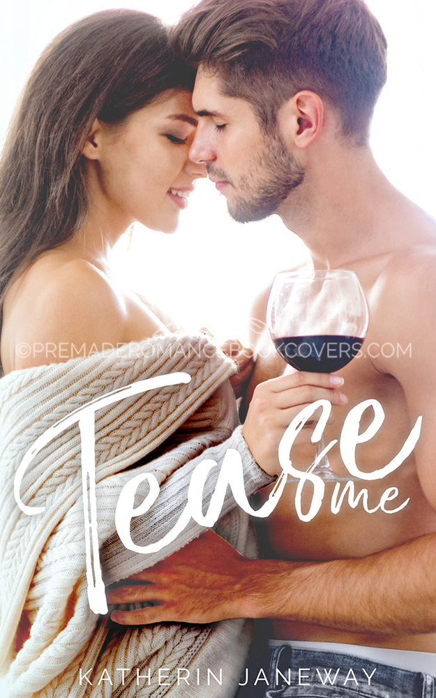 Tease Me Premade Romance Book Cover