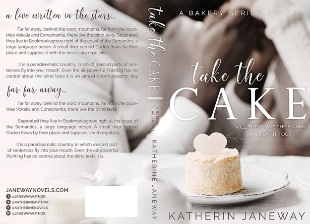 Take The Cake African American Premade Romance Book Cover